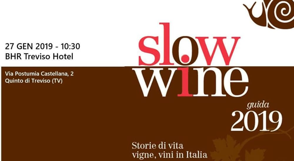 c00d61be9e2a On January 27 at Treviso Slow Wine
